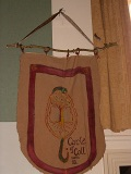 Circle of Coll Banner :: Hung in the Town Hall in Glastonbury during the Summer Solstice Festival